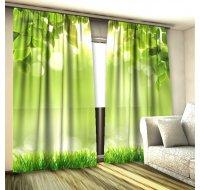 Листья зеленые